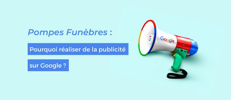 Pompes Funèbres publicité Google